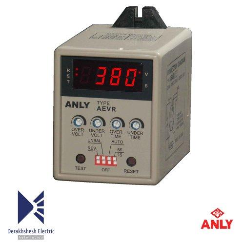 کنترلر فاز دیجیتال مولتی فانکشن با صفحه نمایش ولتاژ