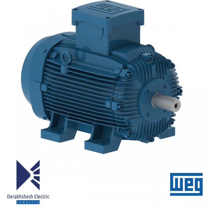 الکتروموتور 132 کیلووات 6 پل WEG
