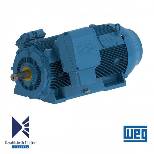 الکتروموتور 160 کیلووات 4 پل WEG