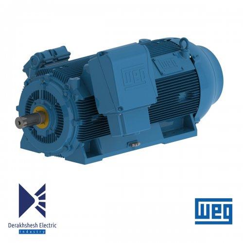 الکتروموتور 185 کیلووات 4 پل WEG