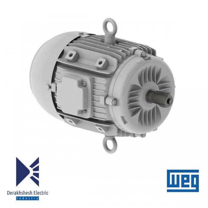 الکتروموتور 2.2 کیلووات 2 پل WEG