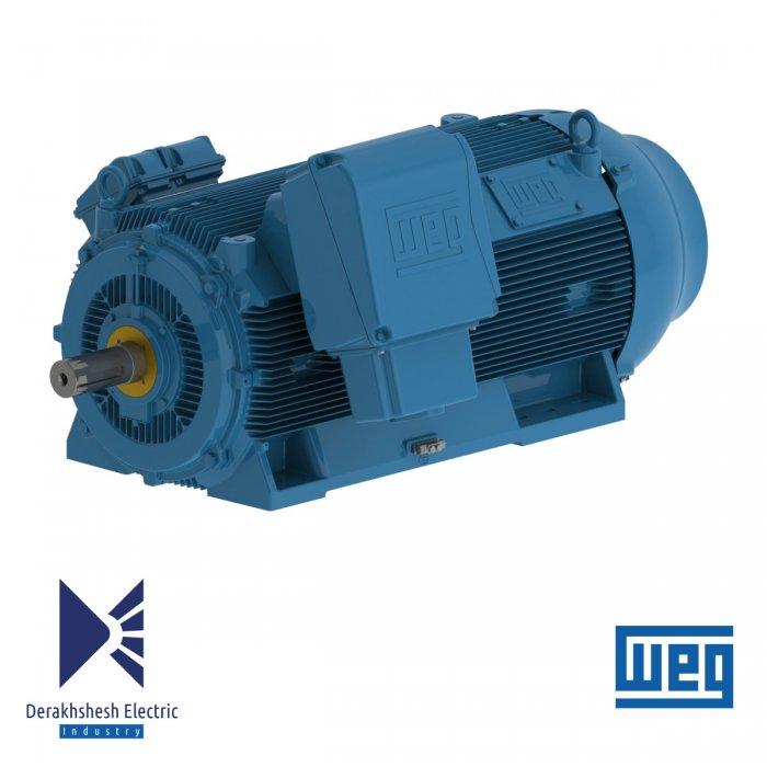 الکتروموتور 200 کیلووات 4 پل WEG