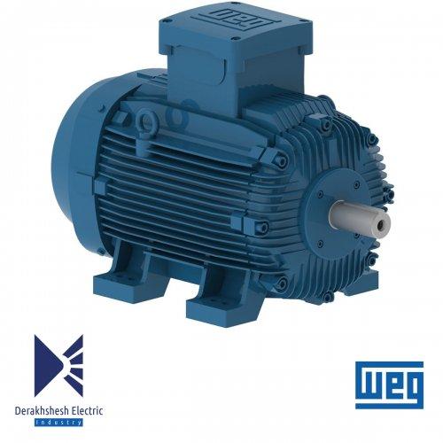 الکتروموتور 22 کیلووات 8 پل WEG