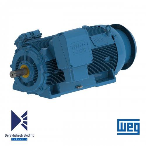 الکتروموتور 560 کیلووات 4 پل WEG